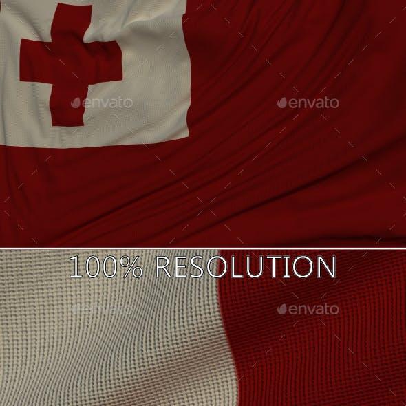 Background Flag of Tonga