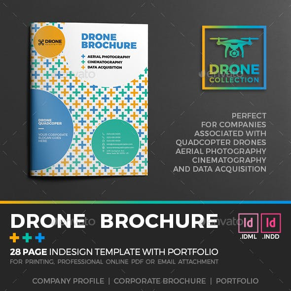 Drone Brochure Templates from GraphicRiver