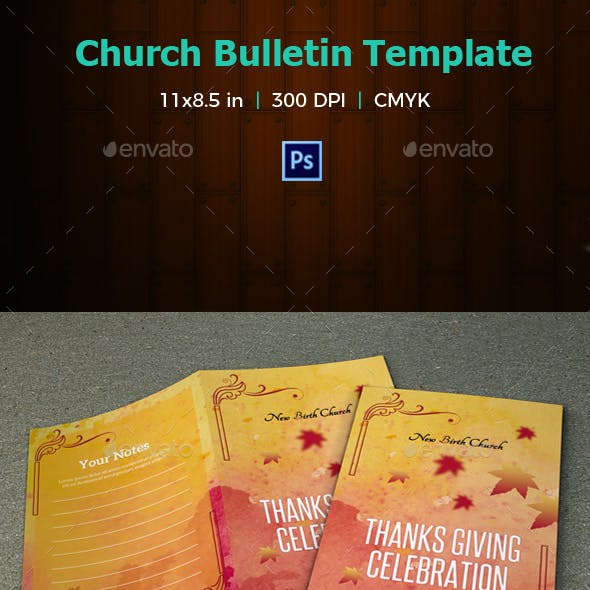 Church Bulletin Template-V04