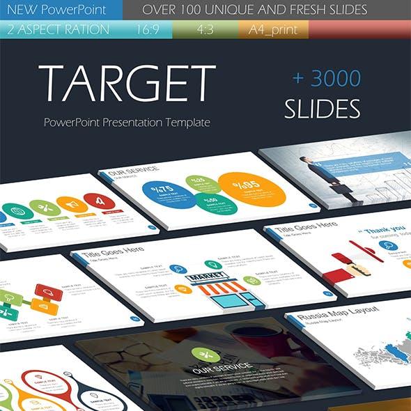 TARGET PowerPoint Presentation Templates