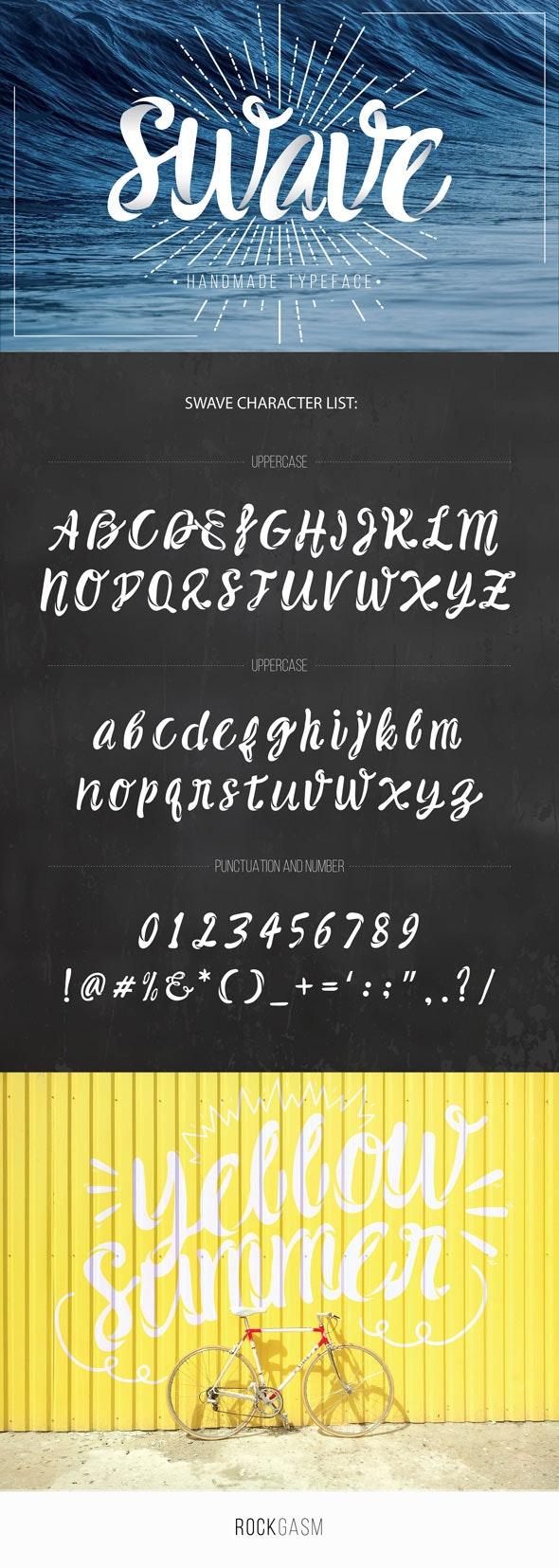 Swave Typeface - Decorative Fonts