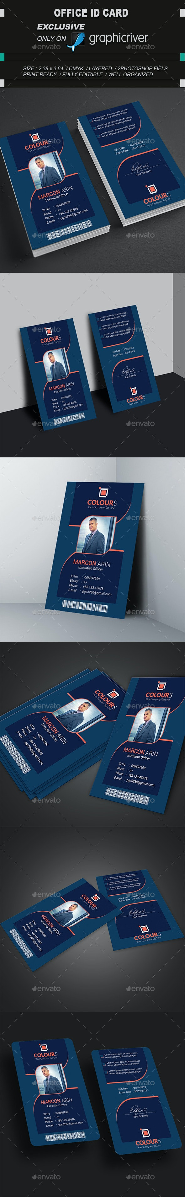 Moder ID Card_3 - Miscellaneous Print Templates