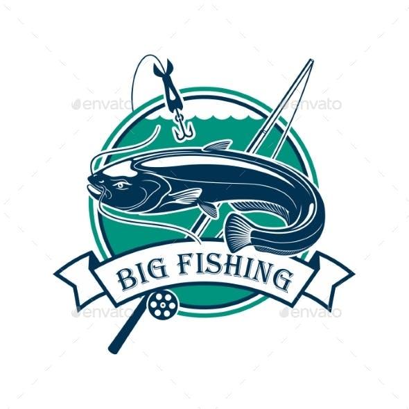 Big Fishing Sport Club Emblem