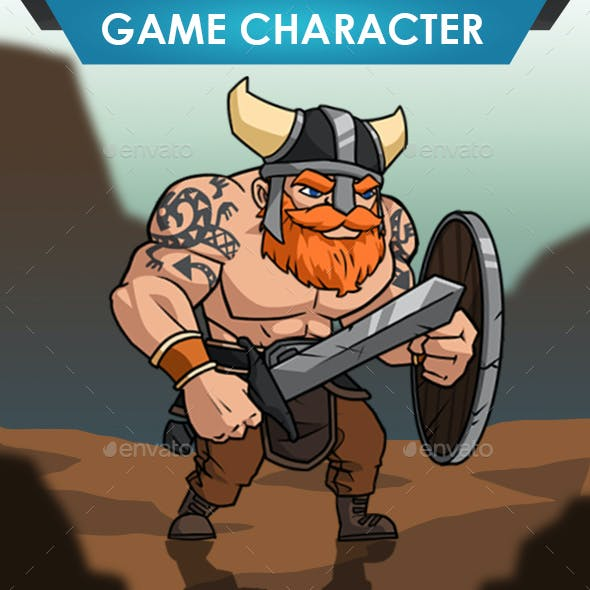 Viking Warrior Shield
