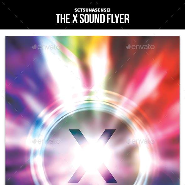 The X Sound Flyer