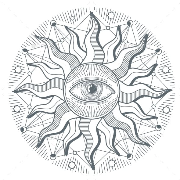 All Seeing Eye Illuminati New World Order