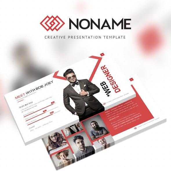 NONAME - Creative Presentation Template