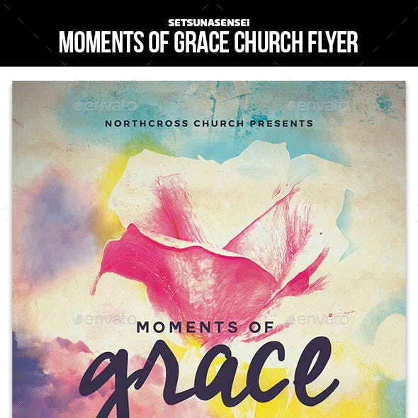 Moments of Grace Church Flyer