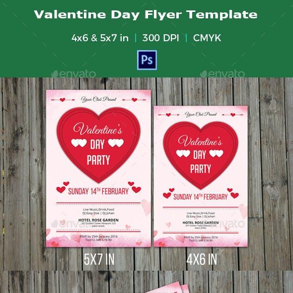 Valentine Day Party Flyer-V02