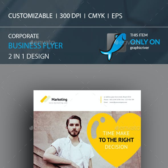 Corporate Flyer 2 in 1