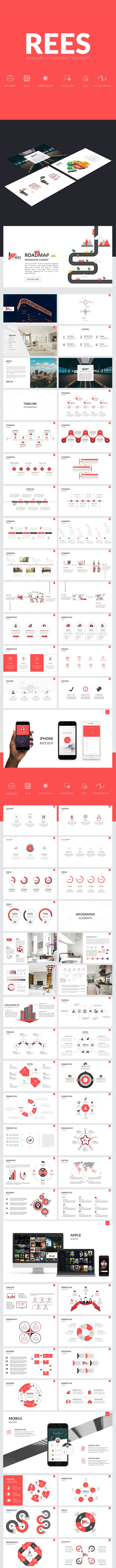 Rees Business Powerpoint Template - Business PowerPoint Templates