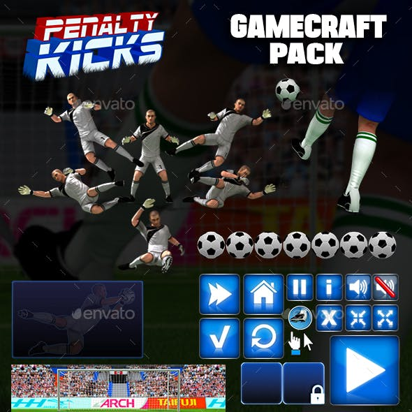 Penalty Kicks  Game Assets