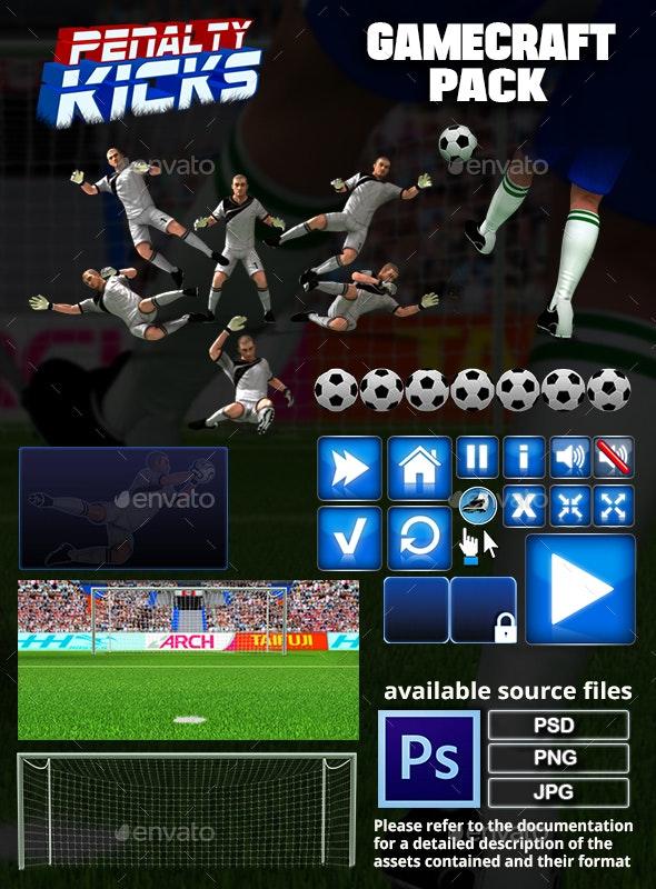 Penalty Kicks  Game Assets - Game Assets