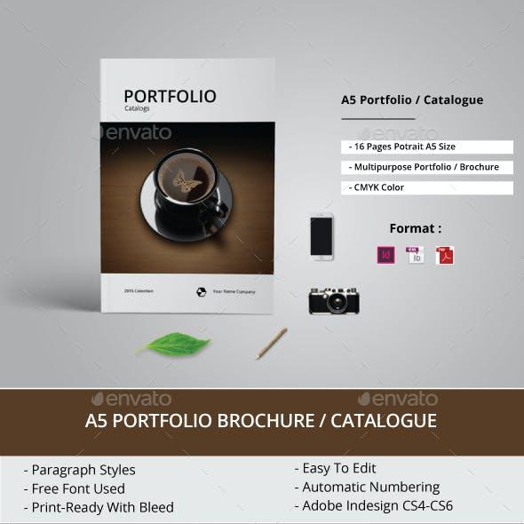 Multipurpose A5 Portfolio