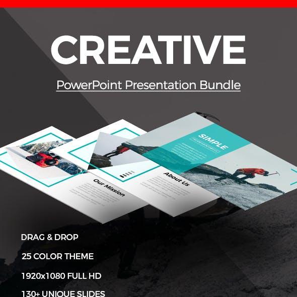 Creative Powerpoint Presentation Bundle