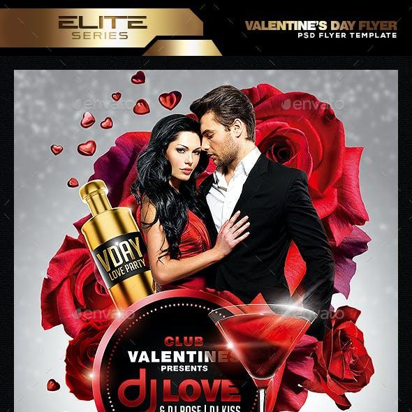 Valentine's Day Flyer Template