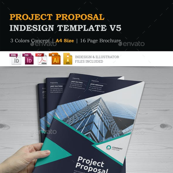 Project Proposal InDesign Template v5