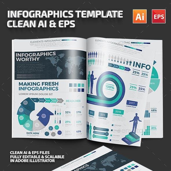 Big Infographics Template Design