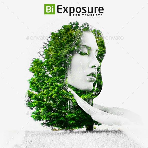 Bi Exposure Photoshop Template