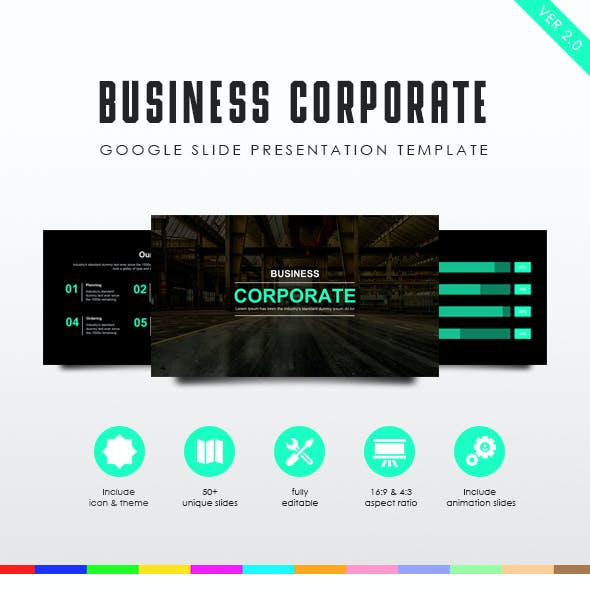 Tosca | Business Corporate Presentation