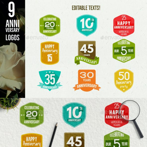 Anniversary Badges & Extras