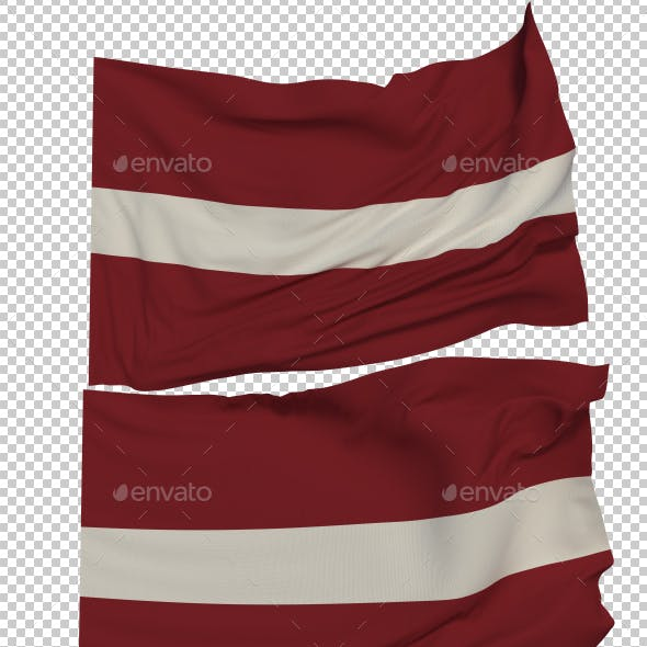 Flag of Latvia - 3 Variants