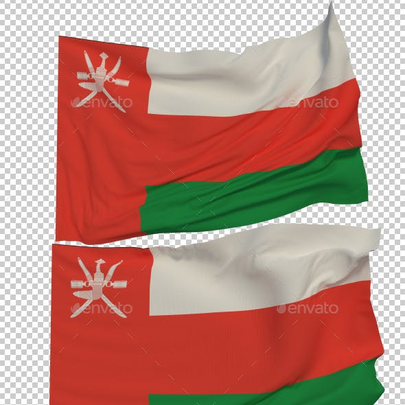 Flag of Oman - 3 Variants