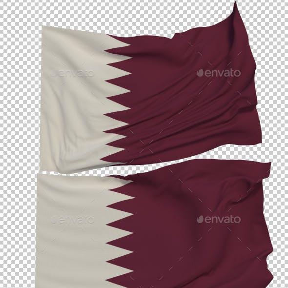 Flag of Qatar - 3 Variants