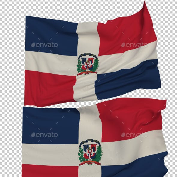Flag of The Dominican Republic - 3 Variants