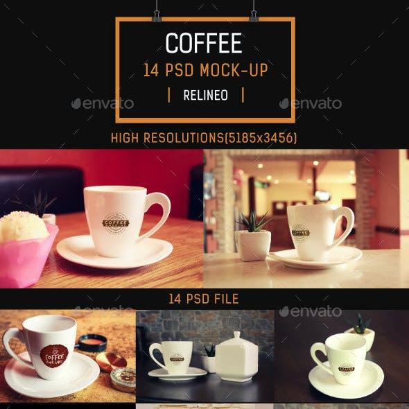 Coffee Mock-up Pack Vol.2