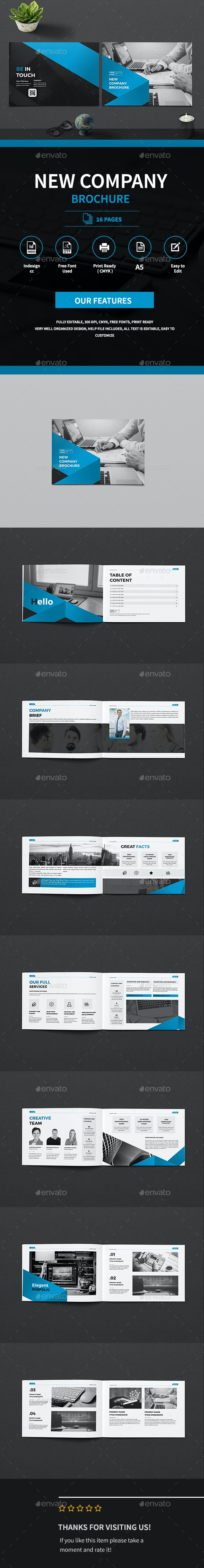 A5 Business Company Brochure - Corporate Brochures