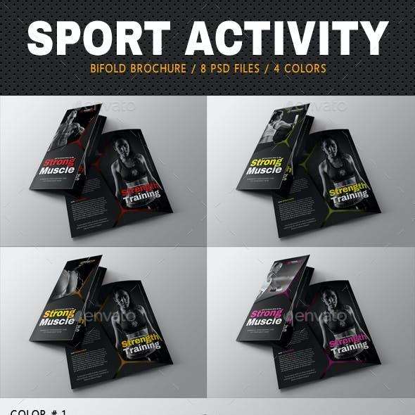 Sport Activity Bifold Brochure 04