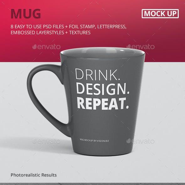 Mug Mockup - Cone