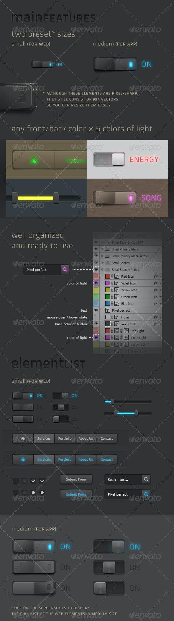 Nantes Web Elements - Buttons Web Elements