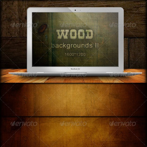 Wood Backgrounds - Grunge Grain