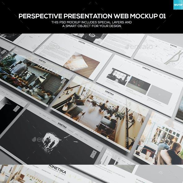 Perspective Presentation Web Mockup 01
