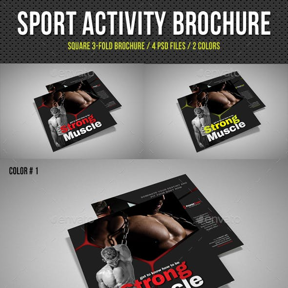 Sport Activity Square 3-Fold Brochure V08