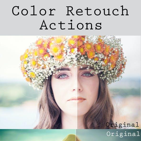 Color Retouch Actions