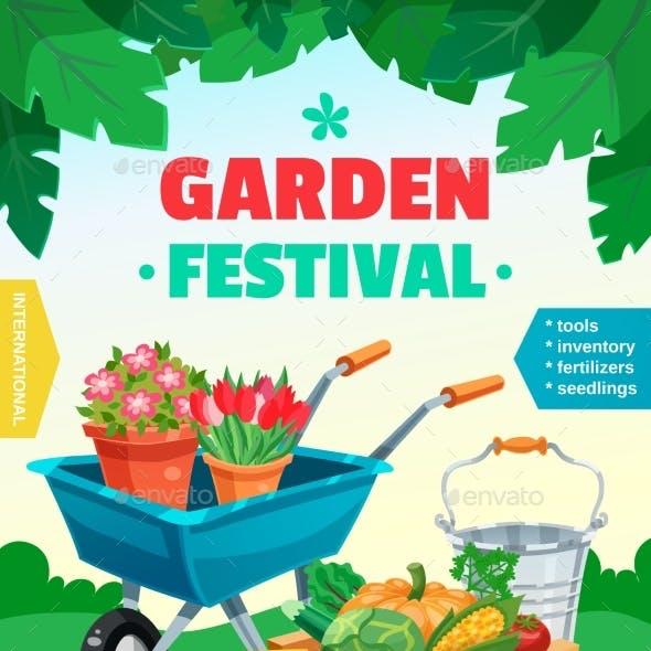 Garden Festival Poster