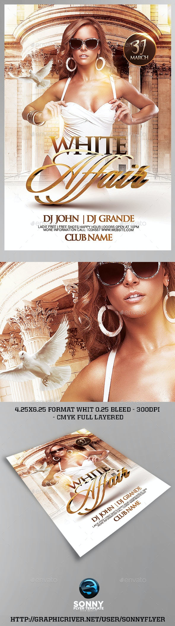 White Affair Party - Clubs & Parties Events