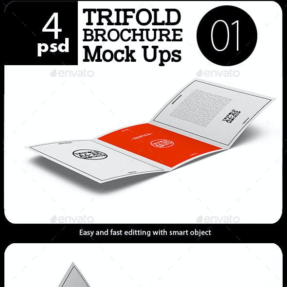A4 / A5 Tri-Fold Brochure -01