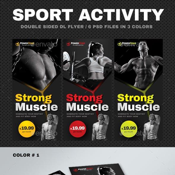 DL Sport Activity Flyer 17