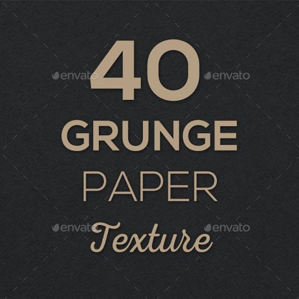 40 Grunge Paper Texture