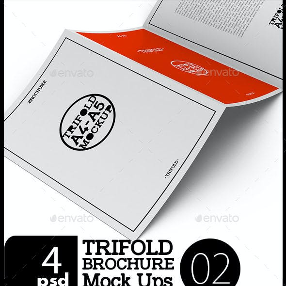 A4 / A5 Tri-Fold Brochure Moc-02