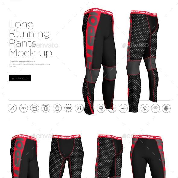 Long Running Pants Mock-up