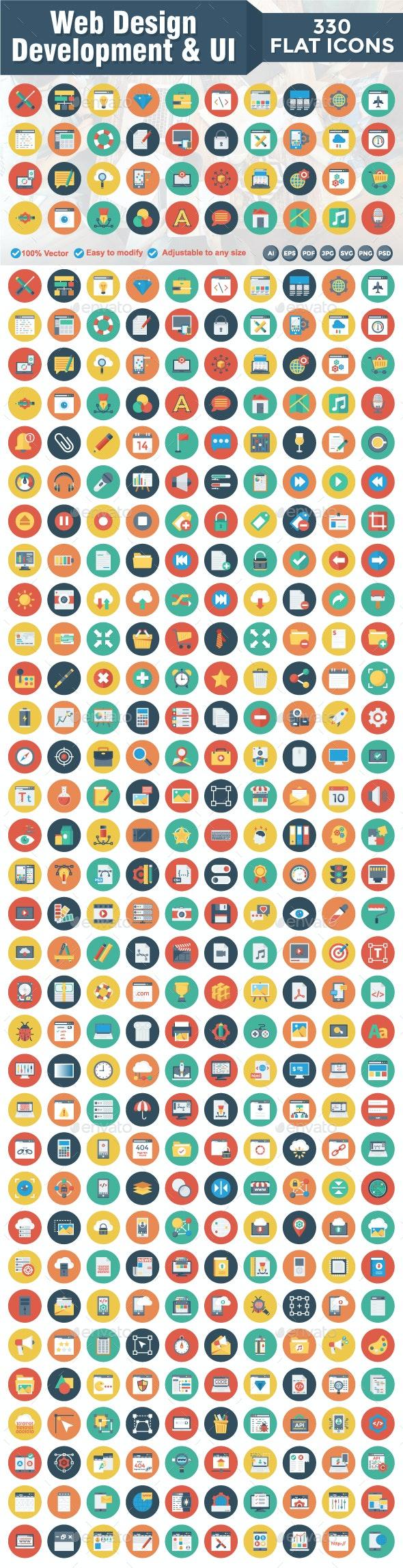 Web Design Development & UI - Web Icons