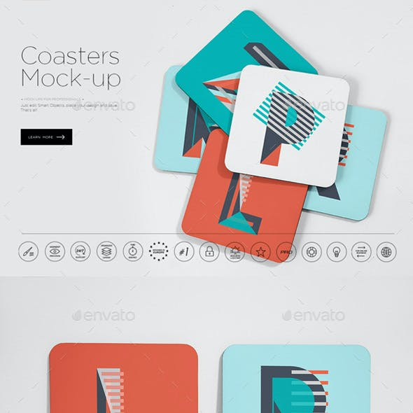 Coasters Mock-up