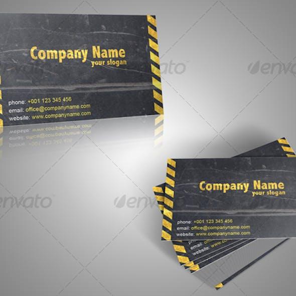 Fully editable business card