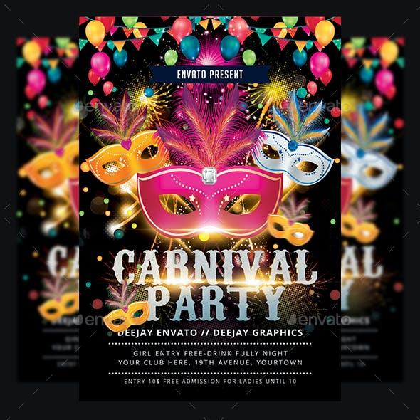 Funfair & Carnival Flyer