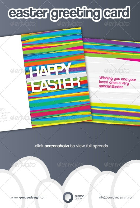 Easter Greeting Card - Holiday Greeting Cards